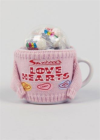 Swizzlers ceramic love heart mug with jumper @ matalan £1.50