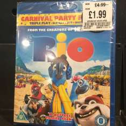 Rio, triple play blu Ray, £1.99 in HMV