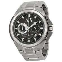 Armani Exchange Mens Stainless Steel Oversized Watch £92 @ H Samuel was £185
