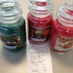 Large Yankee Candle Jars 75% off + 3 for 2 £9.98 @ Clinton Cards