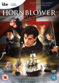 Hornblower Complete Collection DVD (digitally remastered) £10 at Amazon