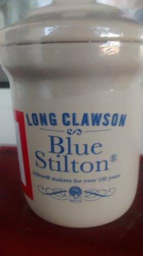 long clawson  blue stilton in ceramic jar 225grams 99p @ Aldi