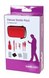 3DS XL Deluxe Starter Pack - Red | Free UK Delivery | £4 @  GAME