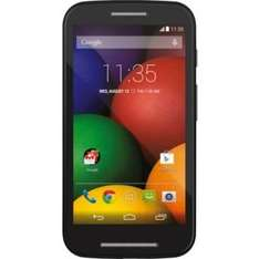 Orange Motorola Moto E Mobile Phone - Black £49.99 plus £10 topup @ Argos