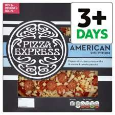 Pizza Express American Pizza 475g @ Tesco Half Price Was £6.00 Now £3.00