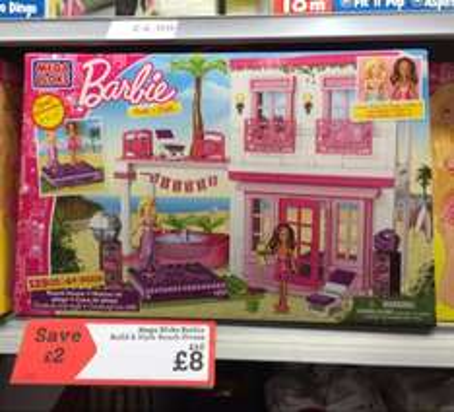 Mega Bloks Barbie Beach House £8 @ Morrisons