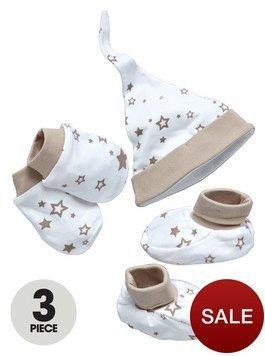Ladybird hat mittens and booties unisex set £3 @ Littlewoods