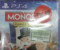 Monopoly: Family Fun Pack (PS4/XBONE) £16.99 in store @ Sainsbury's