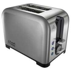 Russell Hobbs 22390 Canterbury 2 Slice Stainless Toaster £17.50 @ Tesco Direct