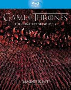 Pre-Order Game of Thrones Seasons 1-4 Blu Ray £58.49 @ Zavvi (using code)