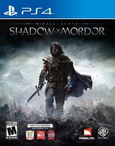 Shadow Of Mordor (PS4) ONLY £25.85 @ Amazon