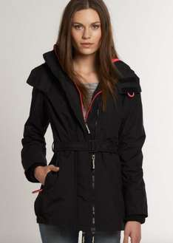 New Womens WindCheater Superdry Pop Zip Wind Mac Jacket Black - New inventory added today... £29.99 @ Superdry / Ebay