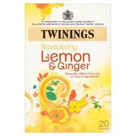 Twinings Revitalising lemon and ginger 20 teabags £1 @ asda