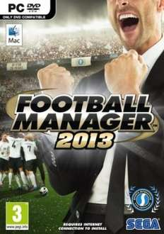 Free Football Manager 2013 PC DVD-Amazon prime