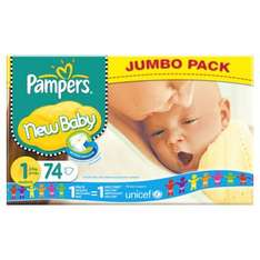 2 for £15 large pampers Tesco