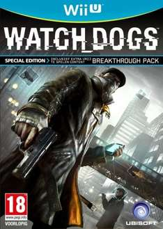 Watch Dogs - Special Edition Wii U £19.95 @ TGC