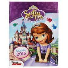 Disney Sofia The First - Annual 2015, £2 delivered @ Theworks +18% quidco!