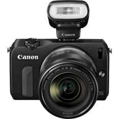 Canon EOS M 18MP Compact System Camera with 18-55mm Lens & flash - £179.99 @ Argos