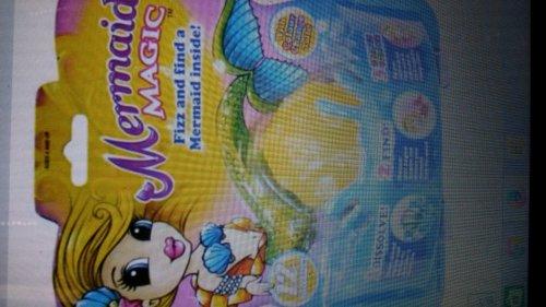 Mermaid Magic Fizz n Surprise £3 in store at Tesco