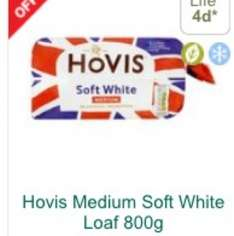 Hovis soft white medium bread - £1 @ Morrisons (25p shopitize and 20p TCB cashback)