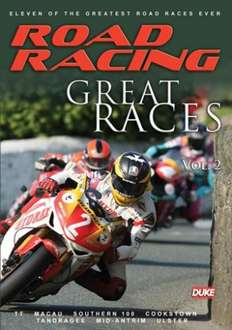 Road racing great races Volume 2: Just pay postage £2.20 @ dukevideo