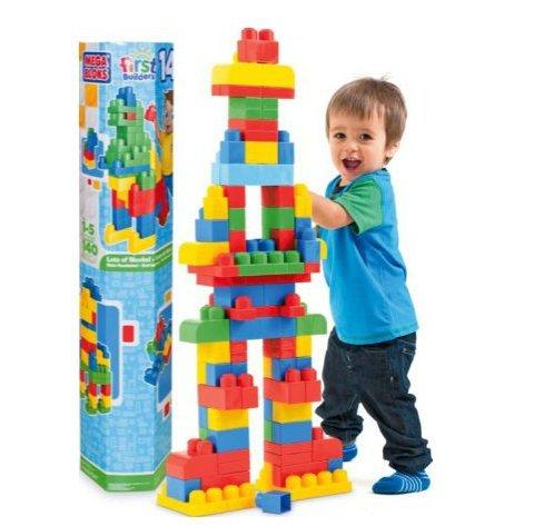 Mega Bloks 140 Piece Maxi Tube LESS THAN HALF PRICE Was £29.99 Now £11.99 @ Argos Reserve and Free collection
