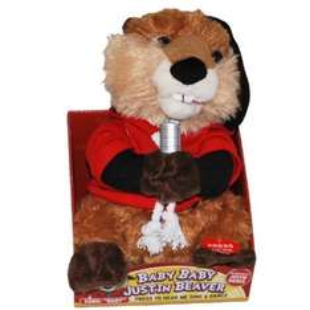 Justin Beaver singing toy - £5 instore @ Debenhams