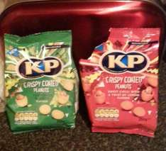 KP crispy coated nuts 79p Home Bargains