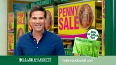 Penny Sale is back on selected products! Free UK Delivery on orders over £20. @ Holland and Barrett