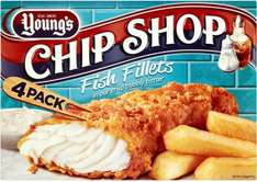 Young's Chip Shop Fish Fillets (Alaska Pollock 50%) (Pack of 4) in a Crisp Bubbly Batter (400g) was £2.50 now £1.89 @ Asda