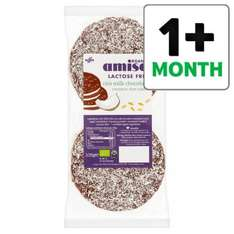 Amisa Organic Milk Chocolate Coconut Rice Cakes 105G half price 70p @ Tesco