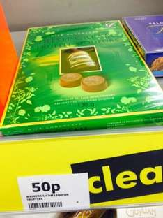 Walkers liqueurs chocolates reduced to as little as 50p at onestop!