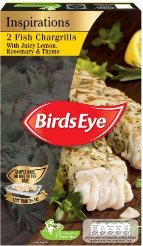 Birds Eye Inspirations (2) Fish (83% Alaskan Pollock) Chargrills with Tomato Basil & Oregano (300g) was £3.00 now £1.89 @ Asda