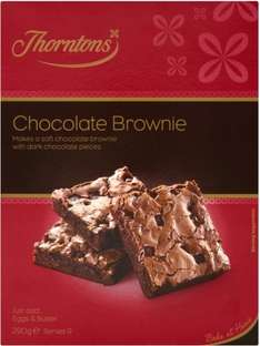 Thorntons Chocolate Brownie Mix (290g) ONLY £1.00 @ Asda