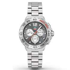 TAG HEUER GENTS STAINLESS STEEL FORMULA 1 INDY 500 CHRONOGRAPH WATCH £762.50 @ steffans