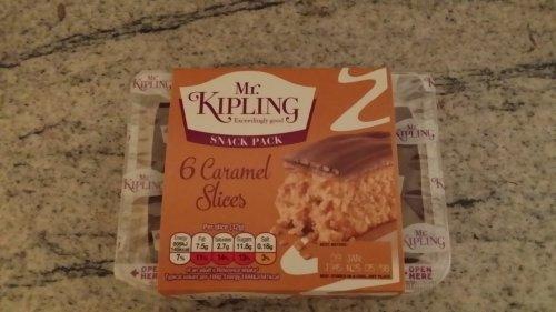 MR Keepling 6 Caramel slices only .40p instore at Sainsburys