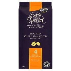 Extra special brazillian whole bean coffee 227g £1 @ Asda