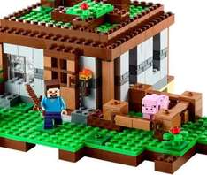Lego Minecraft back in stock at tesco direct from £39.99