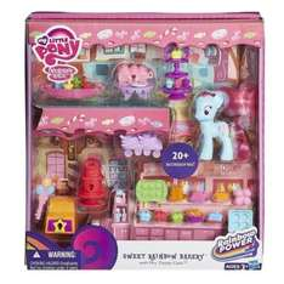 My Little Pony Sweet Rainbow Bakery Playset With Mrs. Dazzle Cake Figure £11 @ Debenhams