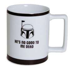 Star Wars Boba Fett Imperial Mug Was £8.00  Now £4.00  Now £2.40  70% Off  Save a total of £5.60 Online @ Debenhams