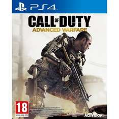 call of duty advanced warfare ps4 £29.95 delivered at gamecollection