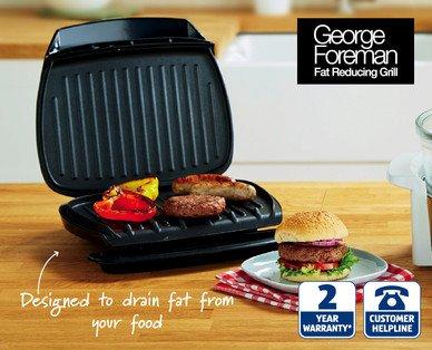 George Foreman Family Grill £19.99 @ ALDI