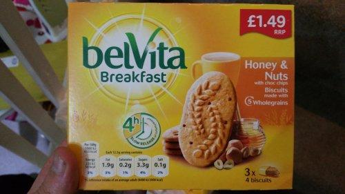 Belvita Breakfast 2 for £1 in store only @ Heron