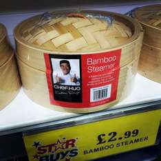 Chef Kuo Bamboo Steamer only £2.99 @ Home Bargains