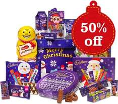 Still got room for xmas chocolate? 50% off Xmas hamper plus an extra15% off with code CGDMOTHERSD14 £25.20 delivered @ Cadbury Gifts Direct