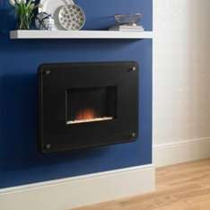 b&q felicia wall hung fire, was £199 NOW £20