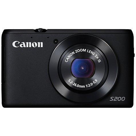 Canon PowerShot  S200 Digital Camera £149 from John Lewis