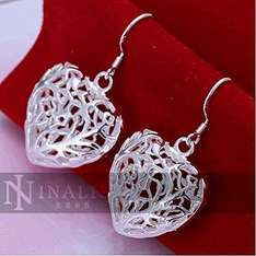 Ladies Heart-Shaped Wire Earrings only £1.00 Sold by mcitymall77® & fulfilled by Amazon (add-on item)