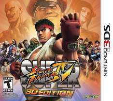 (3DS) Street Fighter 3DS - £3.99 - Argos