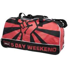 BACK IN STOCK Plain Lazy 5 Day Weekend Holdall Bag £10.79 with code delivered at The Works